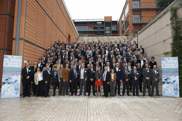 Family picture at the TI AGM 2012 in Lyon, France.